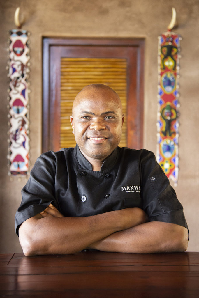 Chef Phillip Nthai - Head Chef At Makweti Safari Lodge