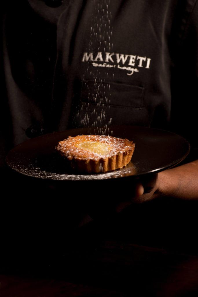 Pear and almond tart recipe from Makweti Safari Lodge