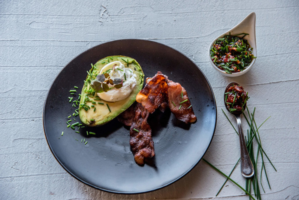 Poached Egg In Avocado Breakfast Recipe From Makweti